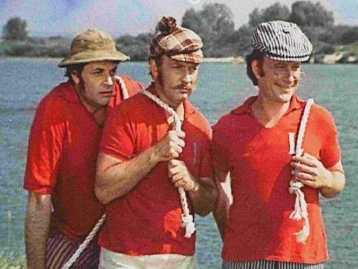 Кадр из фильма *Трое в лодке, не считая собаки*, 1979 | Фото: kino-teatr.ru