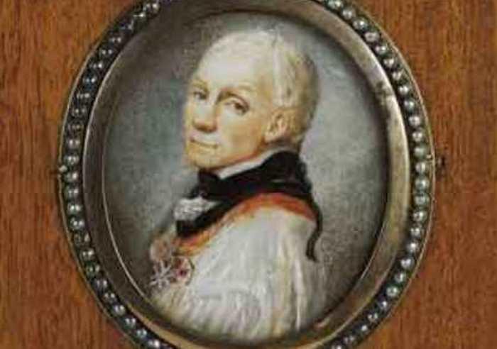 К. де Местр. Портрет генералиссимуса А. В. Суворова, ок. 1799 | Фото: knsuvorov.ru