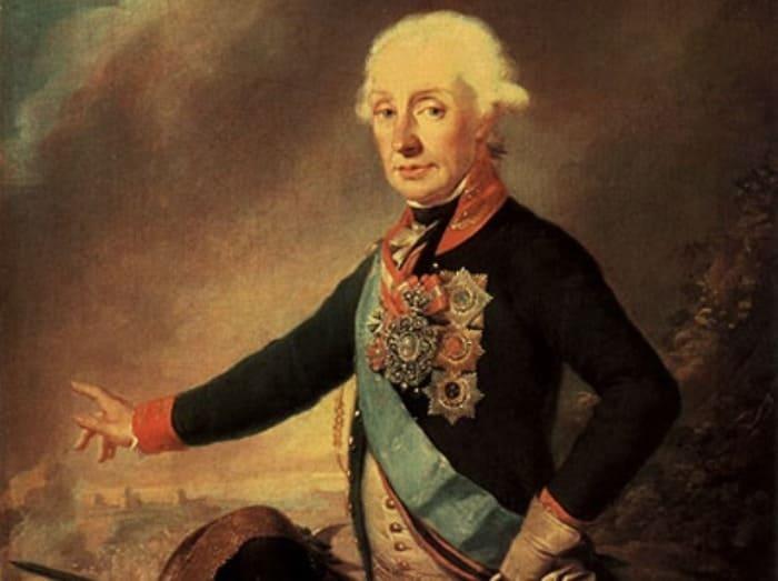 И. Крейцингер. Портрет А. В. Суворова в мундире гвардейского Преображенского полка, 1799 | Фото: knsuvorov.ru