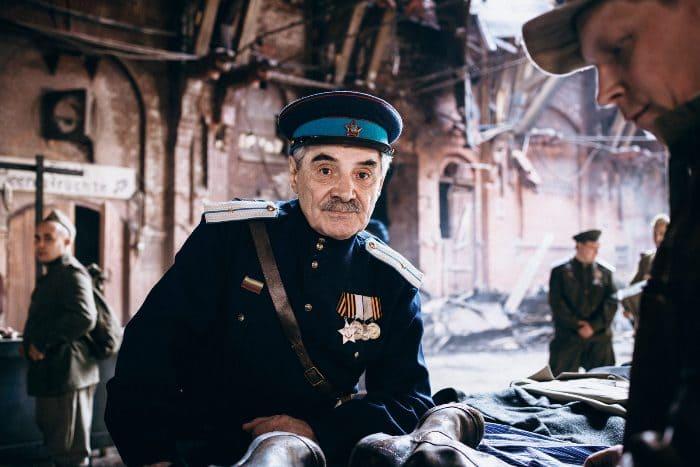 Александр Панкратов-Черный в сериале *По законам военного времени-5*, 2021   Фото: kino-teatr.ru