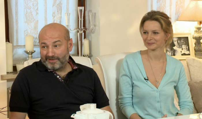 Александра Флоринская и Николай Билык   Фото: stuki-druki.com