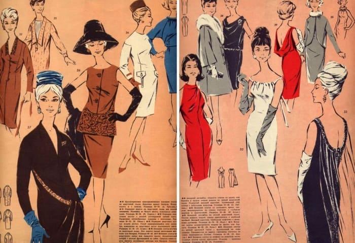 Журнал *Ригас модес*, 1964-1965 гг. | Фото: vintagestory.ru