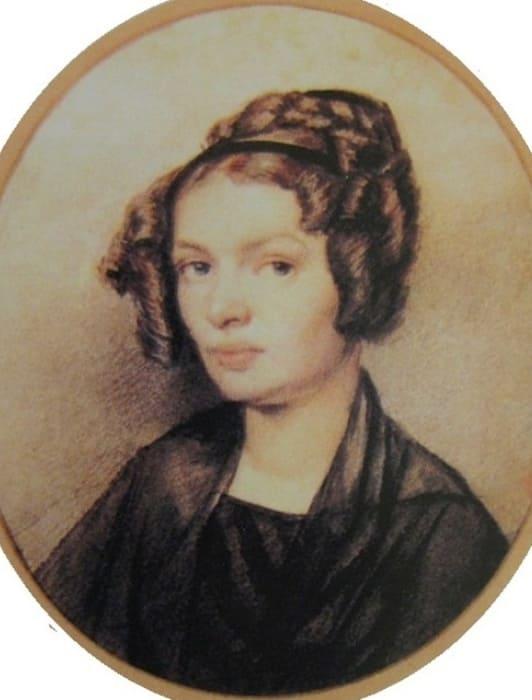 Я.Ф. Яненко. Портрет А.Г. Муравьёвой, 1826   Фото: dekabrist.mybb.ru