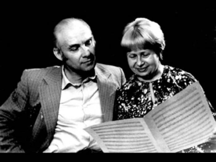 Н. Добронравов и А. Пахмутова | Фото: imelodya.ru