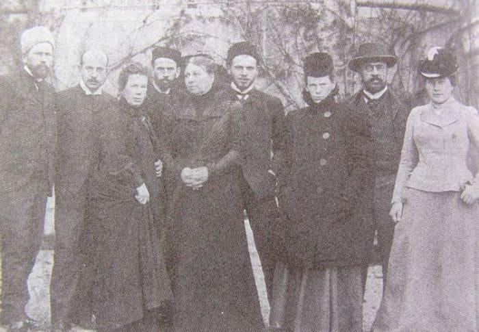 Семья Толстых, ок. 1900 | Фото: svoboda.org