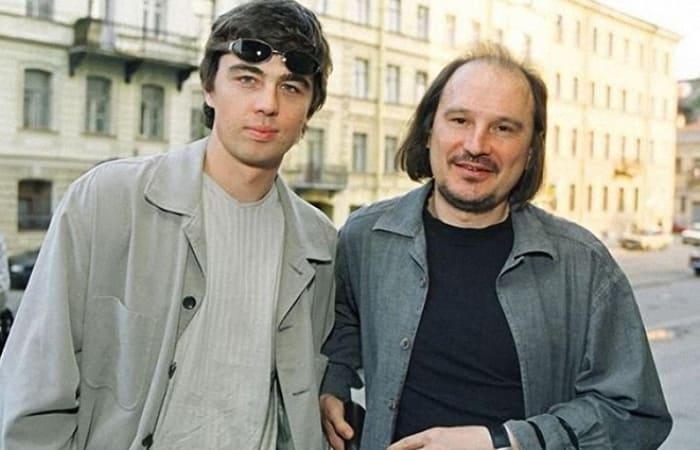 Сергей Бодров-младший и Алексей Балабанов | Фото: kino-teatr.ru