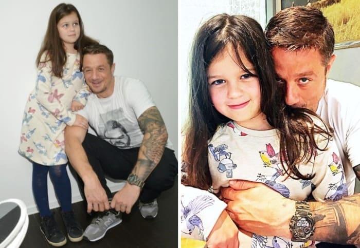 Актер с дочерью | Фото: starhit.ru, obaldela.ru