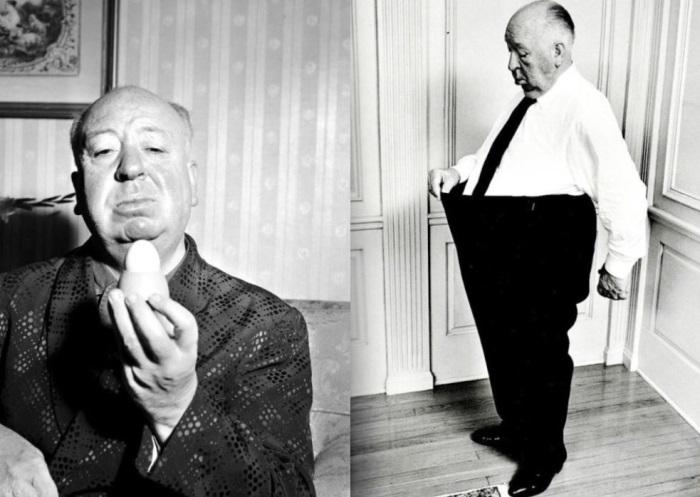Альфред Хичкок страдал обжорством и боялся куриных яиц | Фото: old-picture.ru