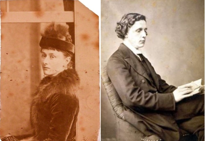 Льюис Кэрролл и его муза Алиса Лидделл