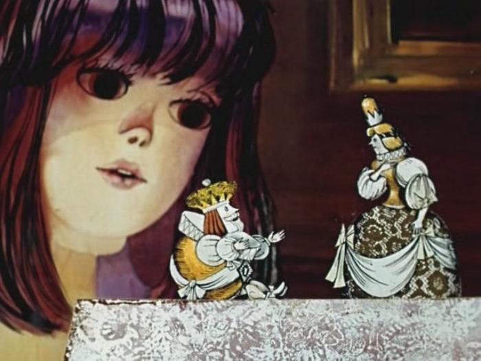 Кадр из мультфильма *Алиса в стране чудес*, 1981