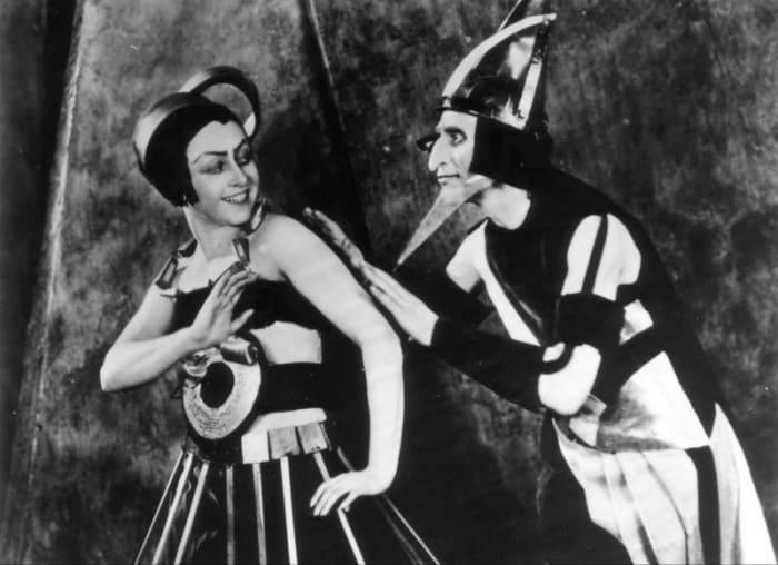 Кадр из фильма *Аэлита*, 1924 | Фото: kino-teatr.ru