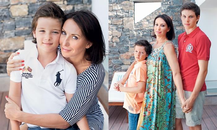 Актриса с сыновьями | Фото: ru.hellomagazine.com