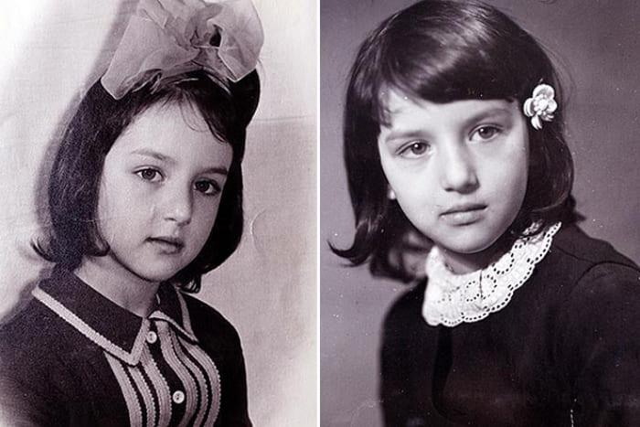 Алика Смехова в детстве | Фото: 24smi.org