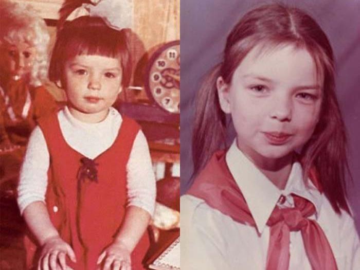 Алиса в детстве   Фото: stuki-druki.com