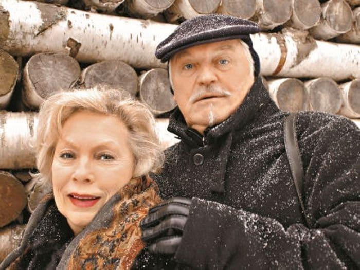 Актриса с мужем | Фото: sobesednik.ru