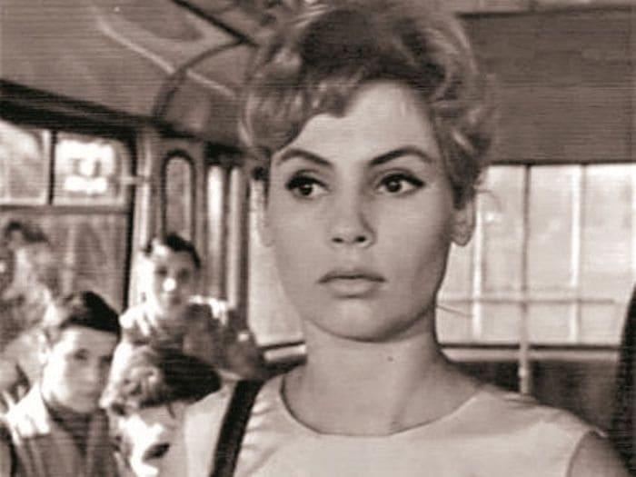 Алла Будницкая в фильме *Первый троллейбус*, 1963 | Фото: sobesednik.ru
