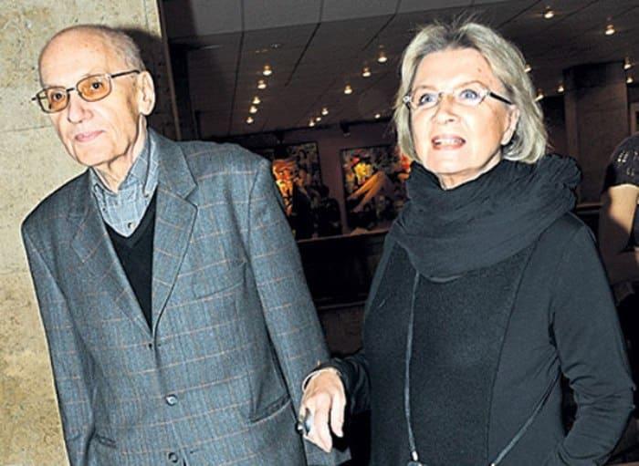 Актриса с мужем, Владимиром Валуцким   Фото: diwis.ru