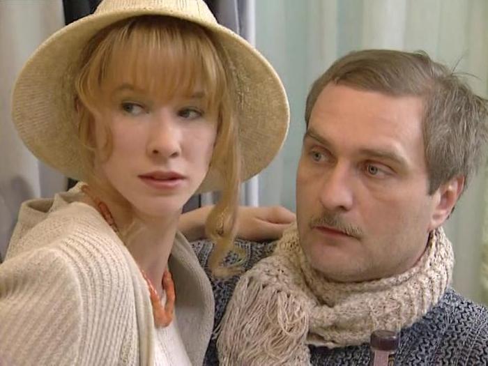 Алла Клюка и Александр Балуев в сериале *Идеальная пара*, 2001 | Фото: kino-teatr.ru