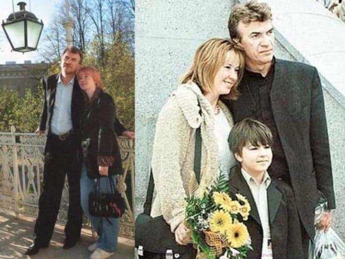 Актриса с мужем, режиссером Владимиром Морозовым, и сыном | Фото: pic-words.com