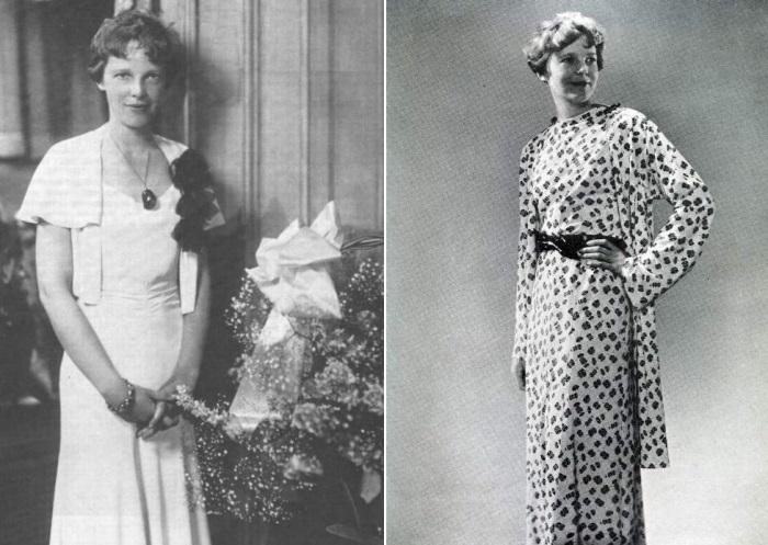 Амелия Эрхарт выпускала собственную линию одежды   Фото: foto-history.livejournal.com