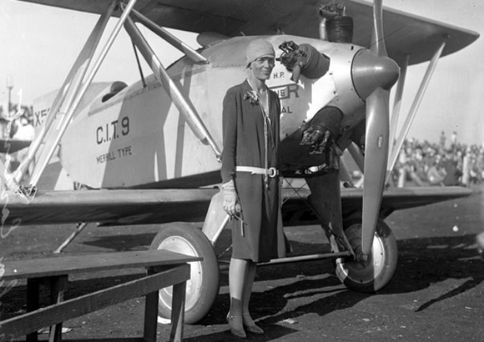 Амелия Эрхарт, Лос-Анджелес, 1928   Фото: womantory.livejournal.com