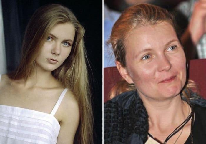 Анастасия Немоляева в юности и в наши дни | Фото: kino-teatr.ru, 24smi.org
