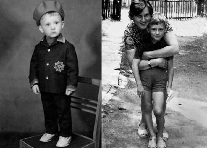 Анатолий Белый в детстве с матерью   Фото: uznayvse.ru