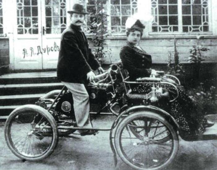 А. Л. Дуров на своем любимом квадроцикле | Фото: vestivrn.ru