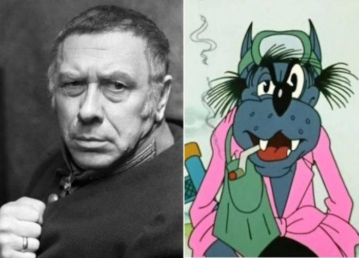 Актер и персонаж, которому он подарил свой голос | Фото: topwar.ru