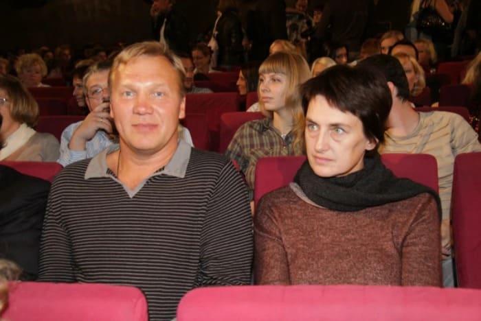 Актер с первой женой Натальей Дубонос | Фото: starhit.ru