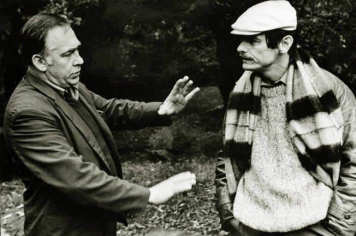 Кинооператор Вадим Юсов и режиссер Андрей Тарковский, 1984 | Фото: aif.ru