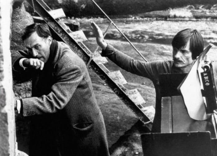 Олег Янковский и Андрей Тарковский на съемках фильма *Ностальгия*, 1983 | Фото: ria.ru