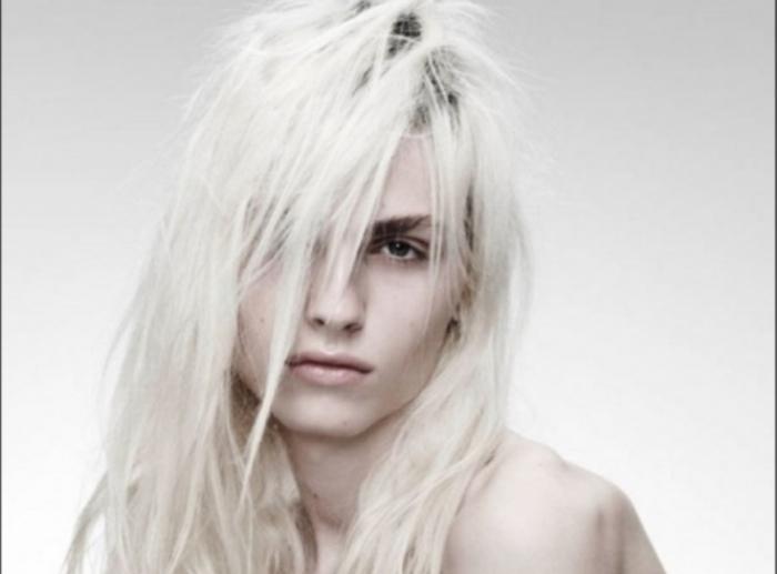 Его называют лучшей андрогинной моделью | Фото: shining-stars.ru