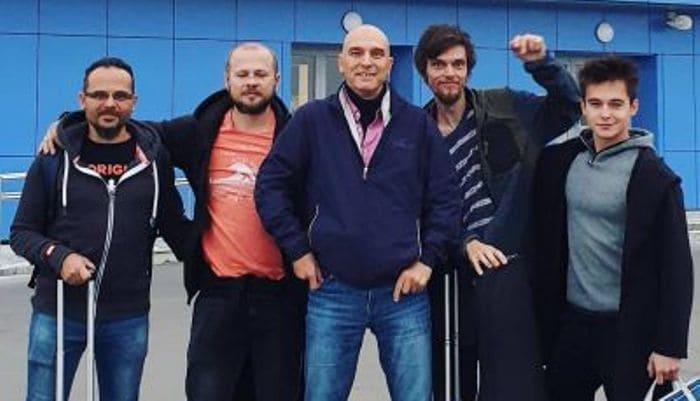 Андрей Державин и группа *Сталкер* | Фото: stalkerd.ucoz.ru
