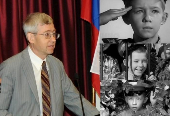 Андрей Юрьевич Громов в настоящее время и в его самой известной киноработе | Фото: ucoz-top.ru
