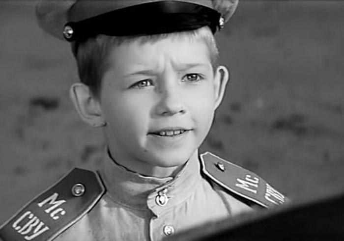 Юный актер в фильме *Офицеры*, 1971 | Фото: kino-teatr.ru