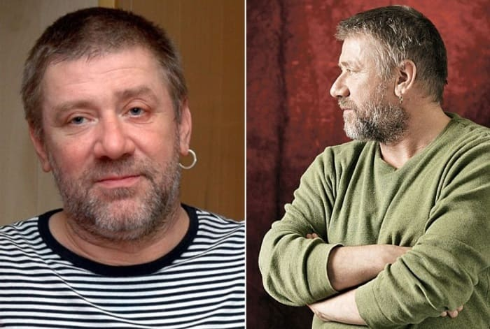 Актер театра и кино Андрей Краско   Фото: a-krasko.ru и kp.ru