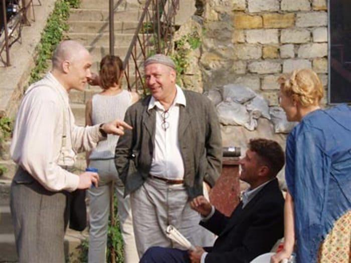 Андрей Краско на съемках своего последнего фильма – *Ликвидация*, 2006 | Фото: kino-teatr.ru