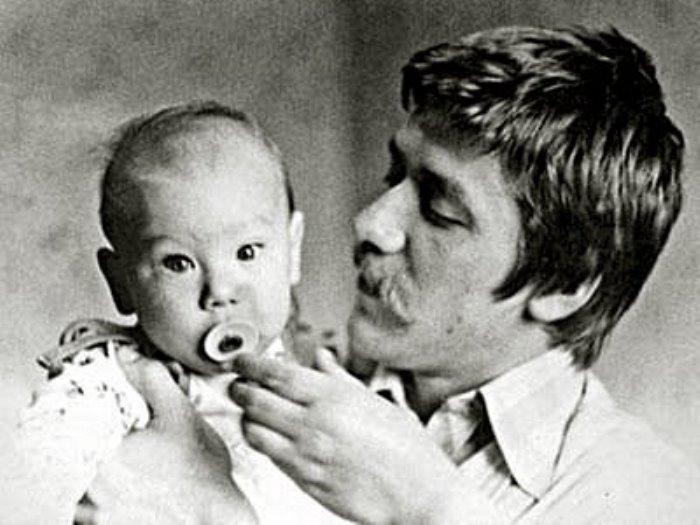 Андрей Краско с сыном   Фото: chtoby-pomnili.com