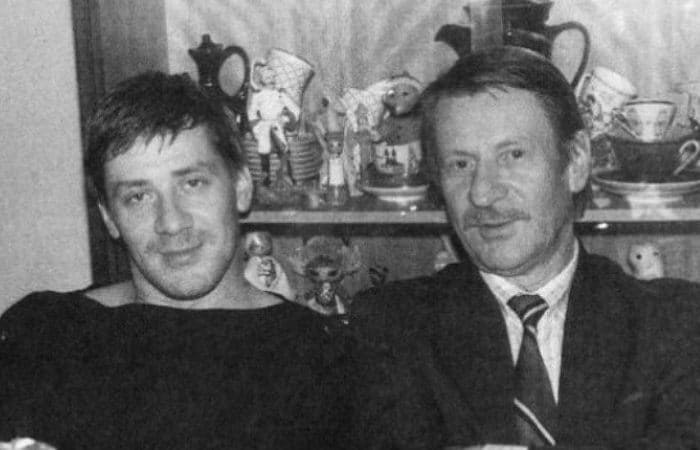 Андрей с отцом, актером Иваном Краско | Фото: uznayvse.ru