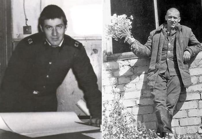 Актер во время службы в армии | Фото: biography-life.ru, chtoby-pomnili.com