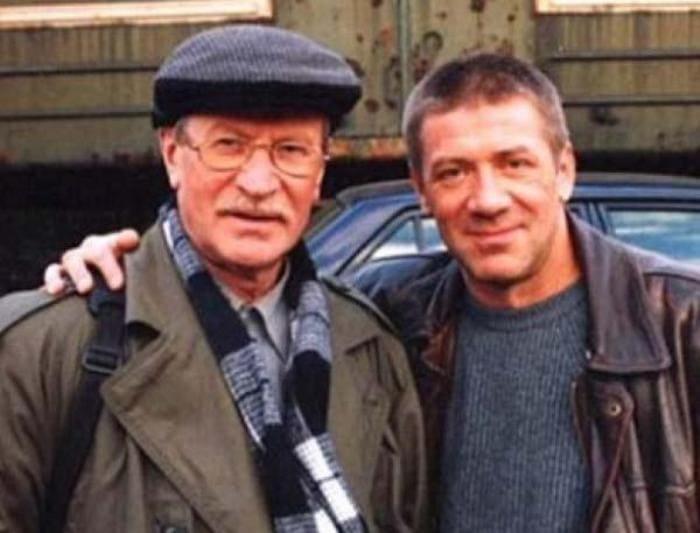 Андрей с отцом, актером Иваном Краско | Фото: joinfo.com