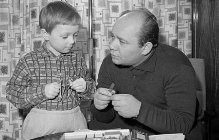 Андрей Леонов с отцом | Фото: rusbatya.ru
