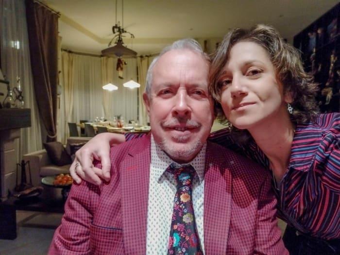 Андрей Макаревич и его четвертая жена Эйнат Кляйн   Фото: jewishmagazine.ru