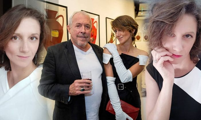 Артист со своей новой избранницей   Фото: rus.tvnet.lv