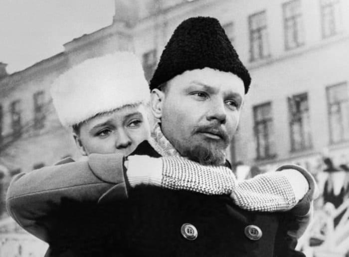 Андрей Мягков в роли Ленина в фильме *Надежда*, 1972 | Фото: kino-teatr.ru