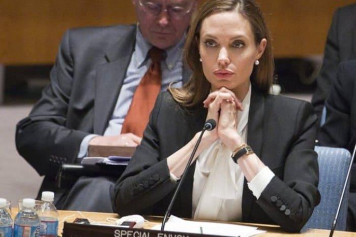 Анджелина Джоли на заседании ООН | Фото: 24smi.org