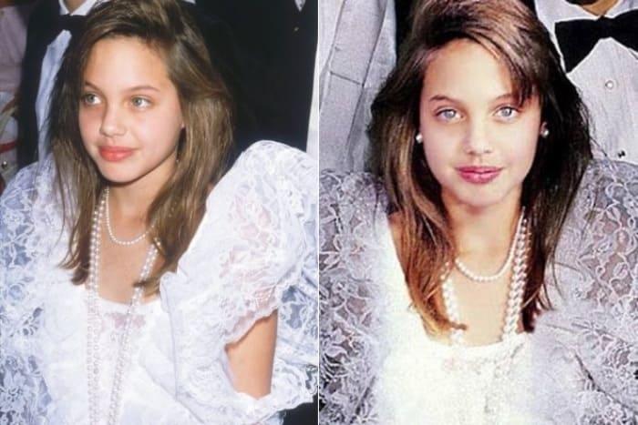 Анджелина Джоли в детстве | Фото: 24smi.org