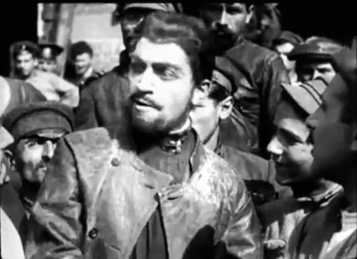 Михаил Чиаурели в фильме *Арсен Джорджиашвили*, 1921 | Фото: kino-teatr.ru