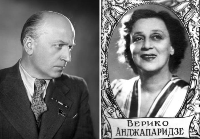 Михаил Чиаурели и Верико Анджапаридзе | Фото: kino-teatr.ru